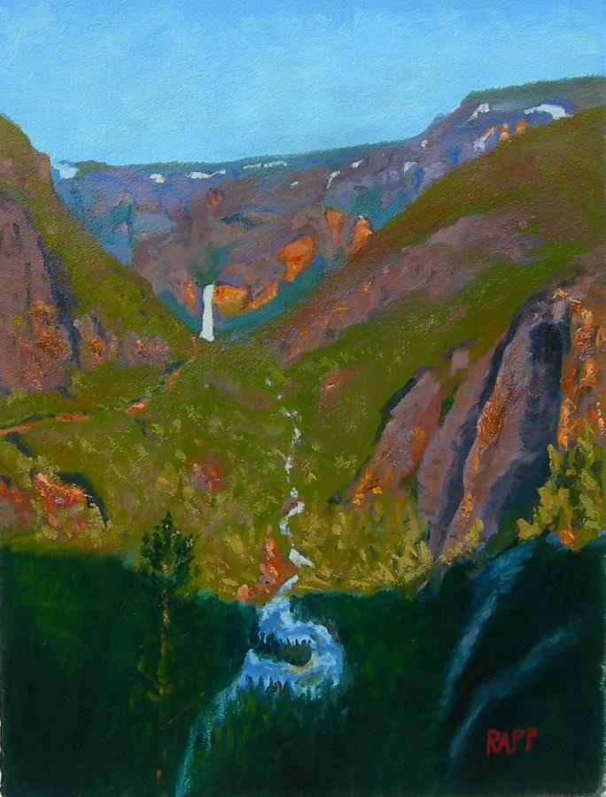 Portal Painting - Portal To Yosemite by Jan Rapp