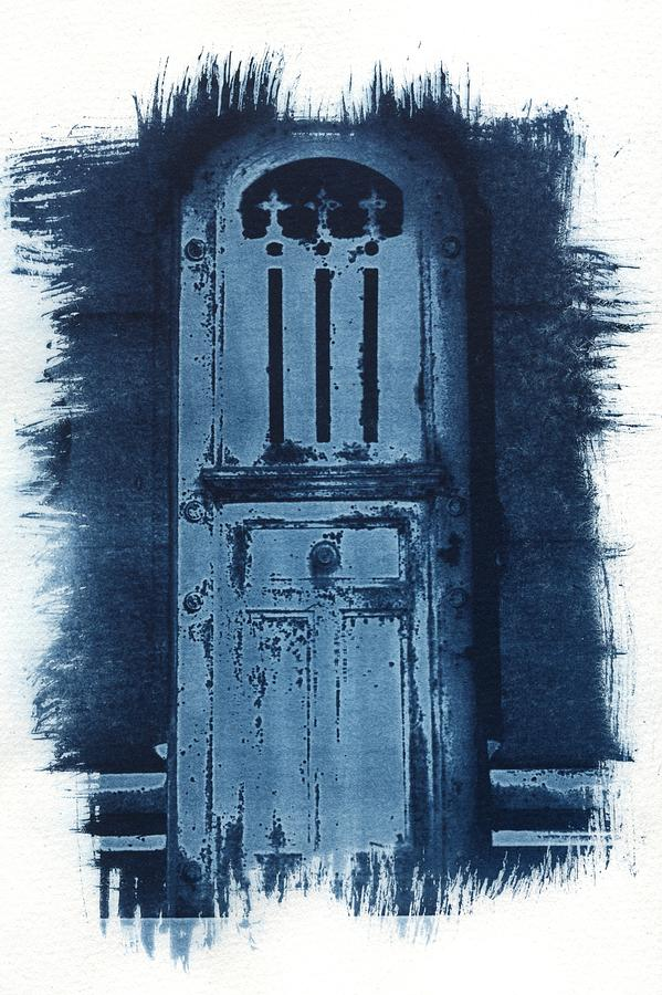 Cyanotype Photograph - Portals by Jane Linders
