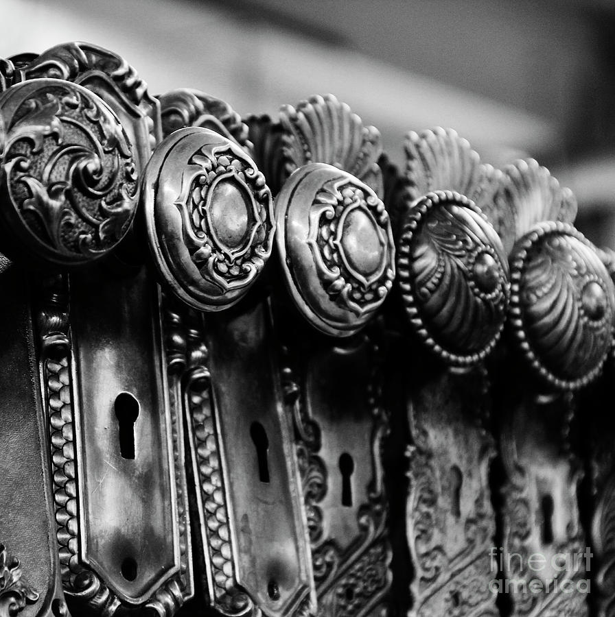 Keys Photograph - Portals To The Past by Betty Doran