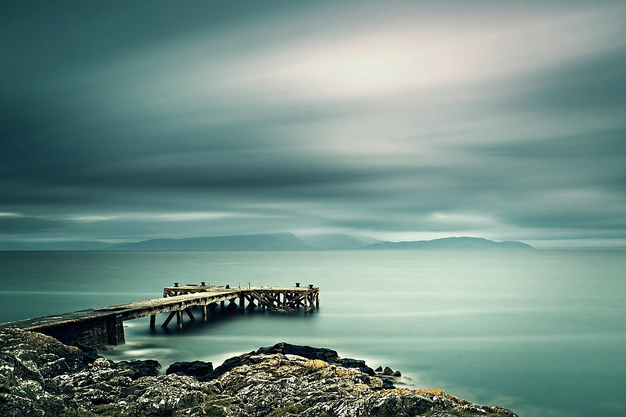 Portencross Pier by Ian Good