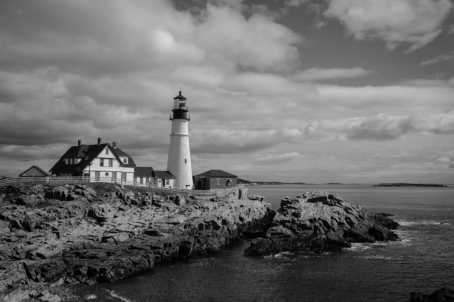 Portland Head Light Photograph - Portland Head Light by Kirkodd Photography Of New England