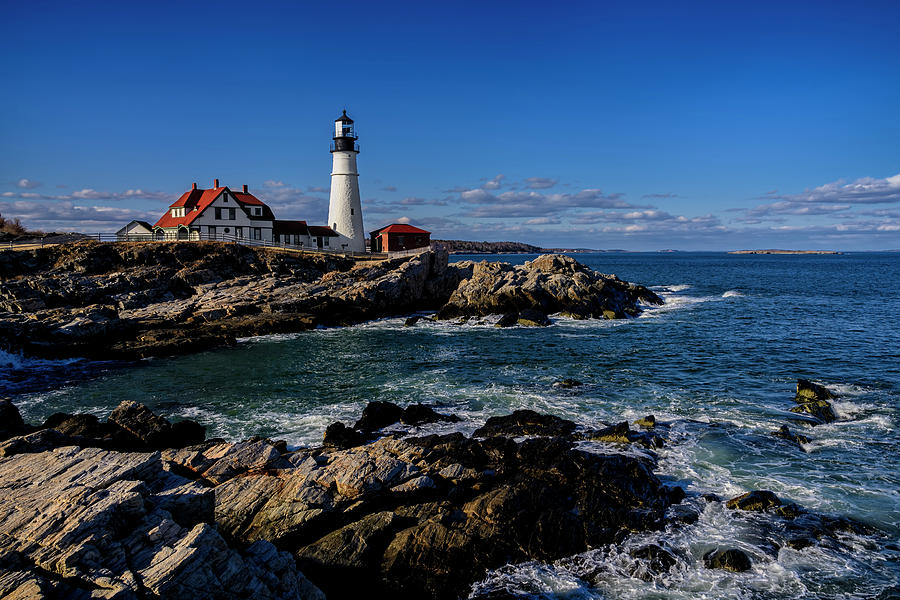 Portland Head Light No.32 Photograph