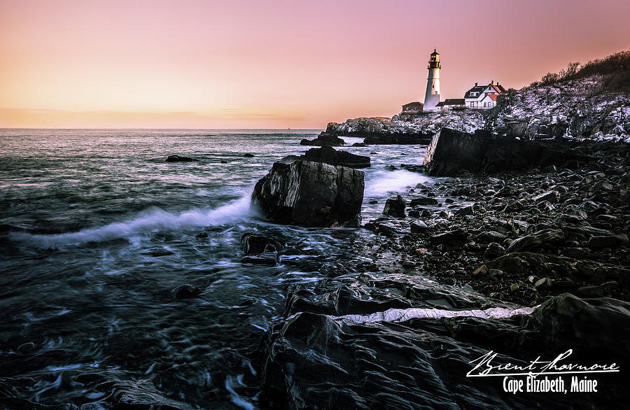 Portland Headlight Photograph by Brent Shavnore