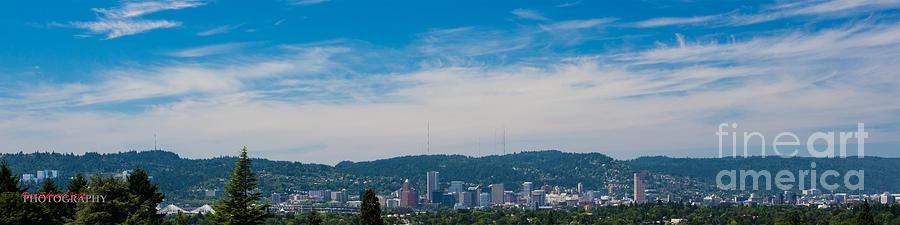 Portland in July by Don Edward Jones