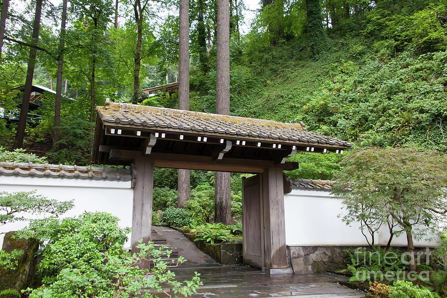 Portland Japanese Garden Portland Oregon 5d3726 Photograph By