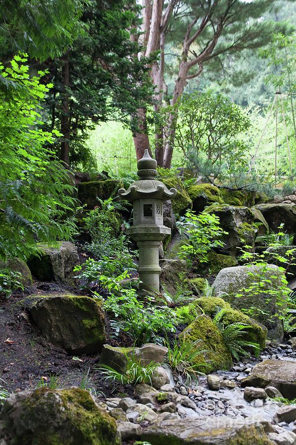 Portland Japanese Garden Portland Oregon 5d3737 Photograph By