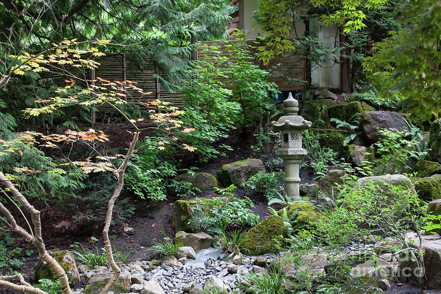 Portland Japanese Garden Portland Oregon 5d3741 Photograph by ...