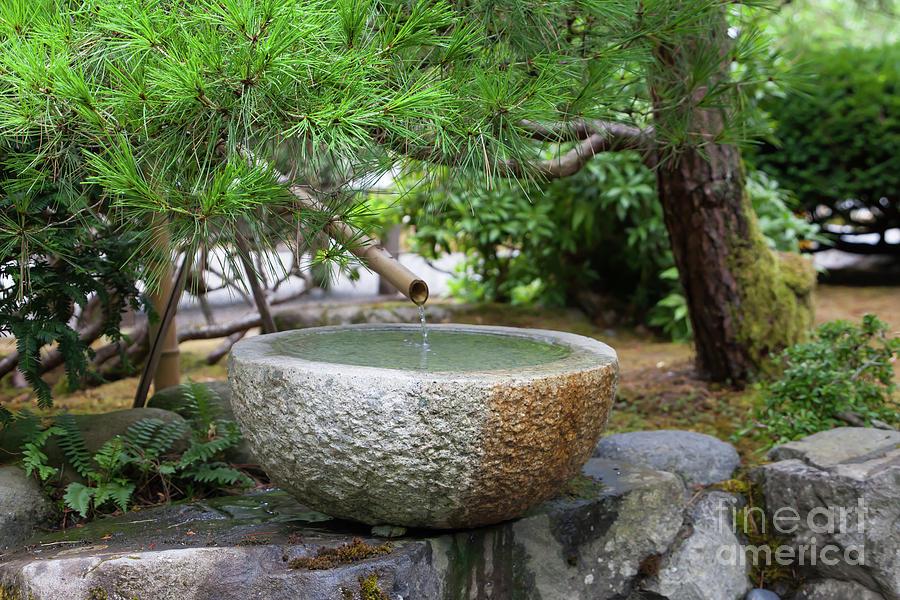 Portland Japanese Garden Portland Oregon 5d3781 Photograph By
