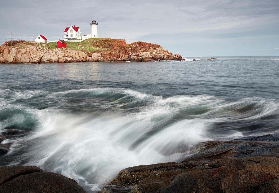 Beauty In Nature Photograph - Portland Lighthouse by Jon Glaser