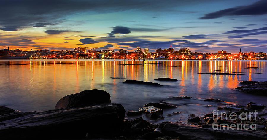 Architecture Photograph - Portland Maine by Benjamin Williamson