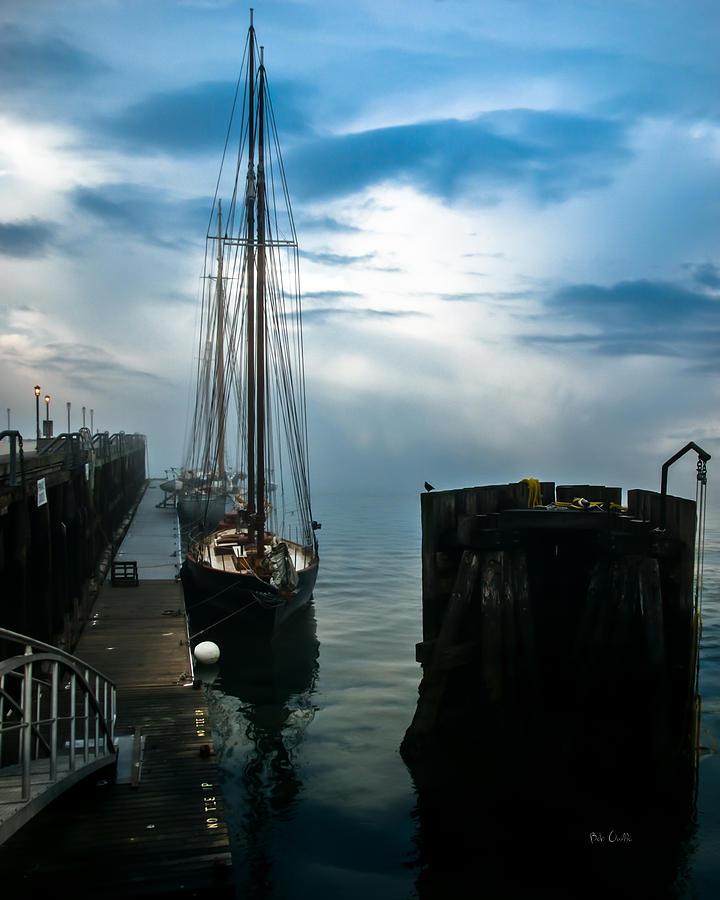 Seascape Photograph - Portland Sunrise by Bob Orsillo