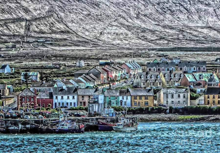Portmagee  Photograph by Julie Chambers