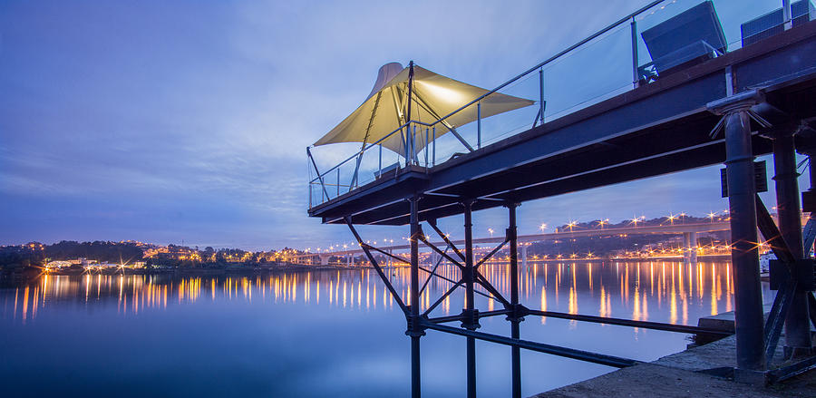 Tags Photograph - Porto Night Out by Bruno Rosa
