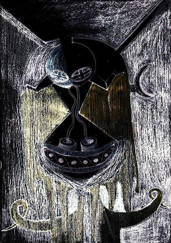 Portoalegre Drawing by Maciek Ratajczak