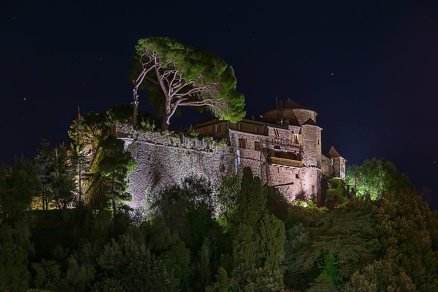 Portofino Photograph - Portofino Bay By Night V - Notte Al Castello by Enrico Pelos