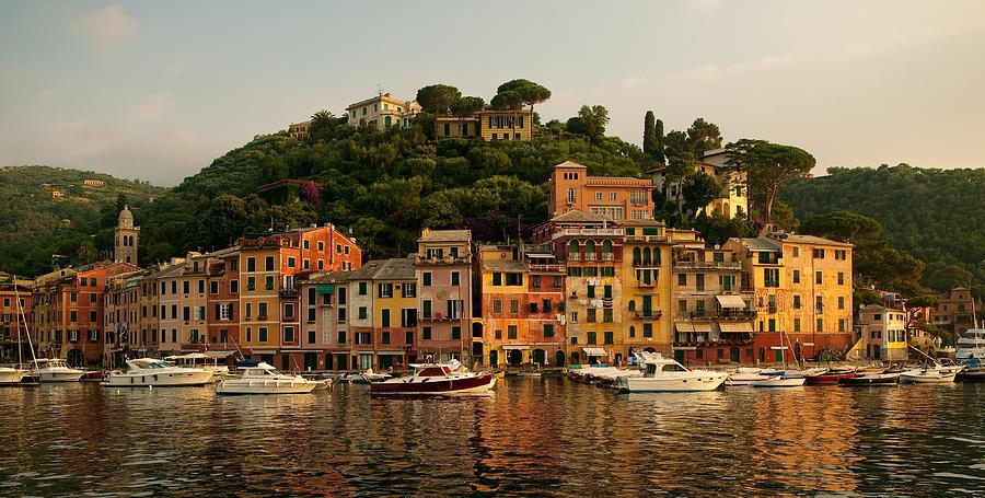 Portofino Photograph - Portofino Bay by Neil Buchan-Grant