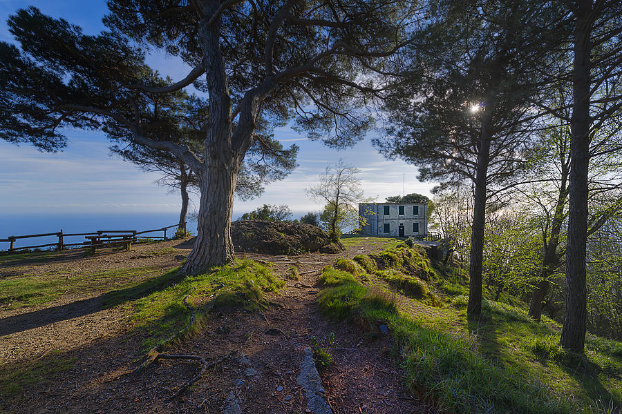 Portofino Photograph - The House Of The Rising Sun In Portofino by Enrico Pelos