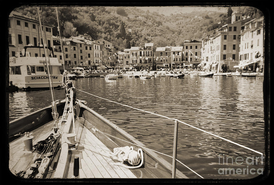 Portofino Italy From Solway Maid Photograph by Dustin K Ryan