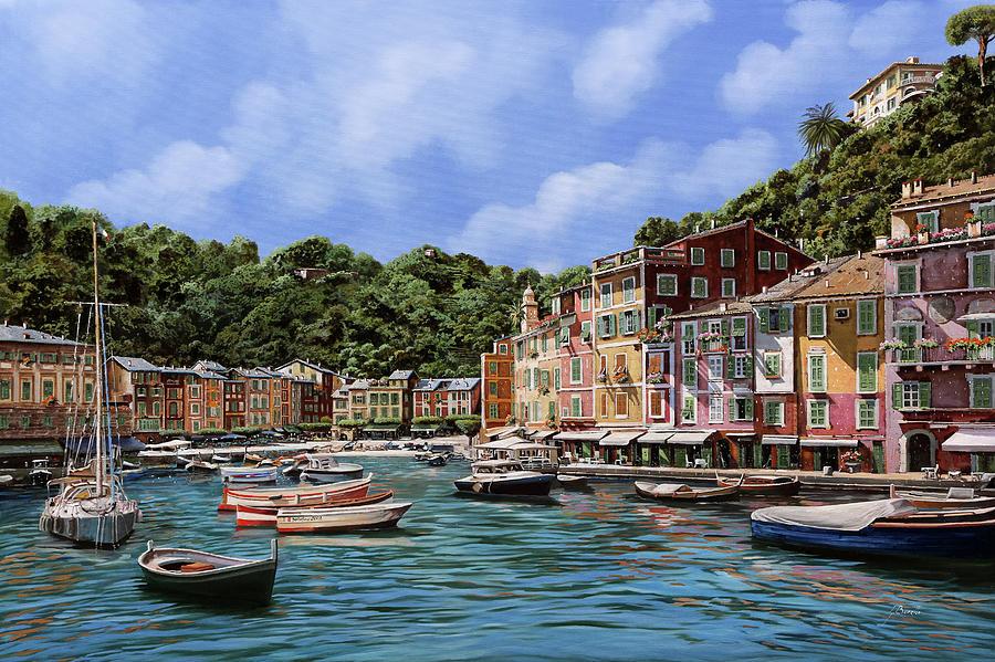 Portofino Nel 2012 Painting