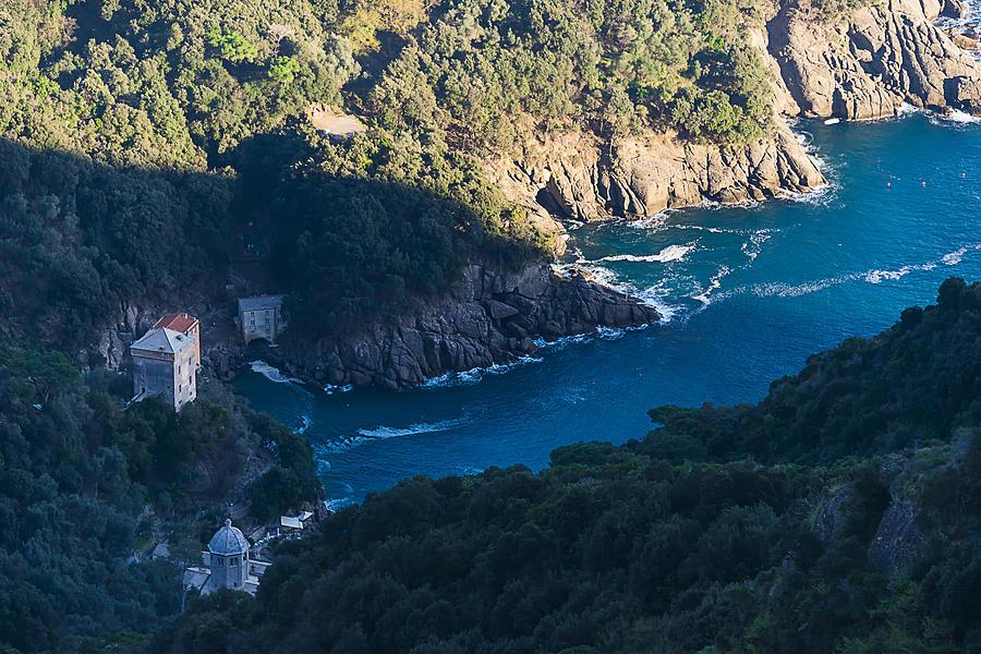 San Fruttuoso Photograph - Portofino San Fruttuoso Bay by Enrico Pelos