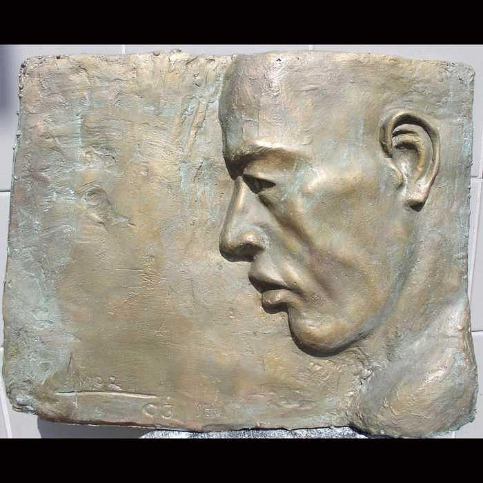 Portrait 1 Relief by Victor Amor