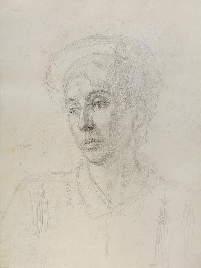 Portrait Painting - Portrait 2 by Robert Nizamov