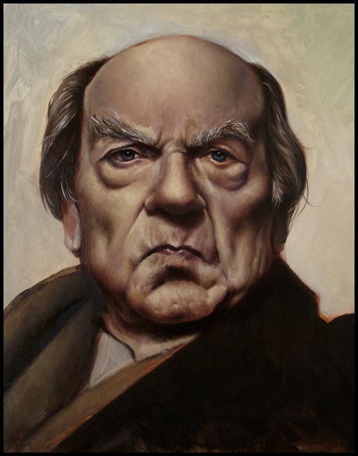 Portrait Painting by Ariel Gulluni