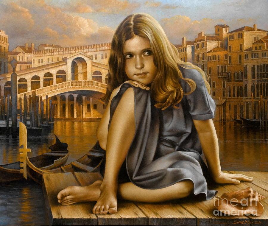 Portrait Painting - Portrait by Arthur Braginsky