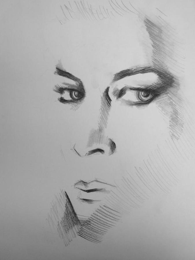 Portrait Drawing - Portrait by Candice DeKay