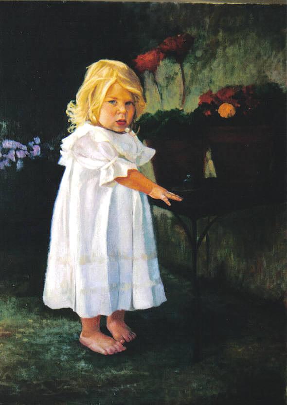 Portrait Painting - Portrait Commission by John L Campbell