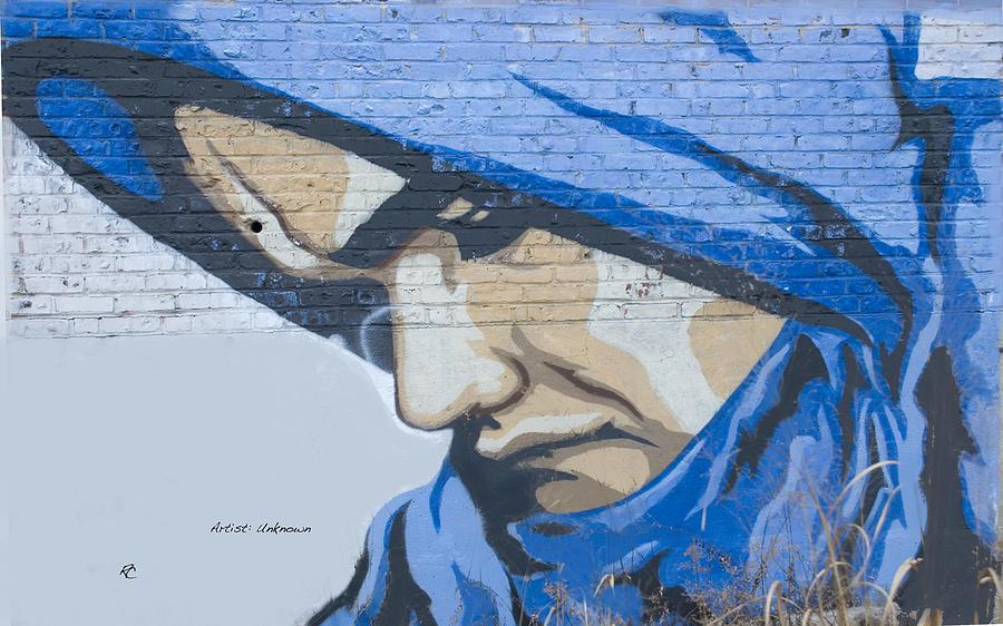 Portrait Grafitti Photograph by Richard Cusumano
