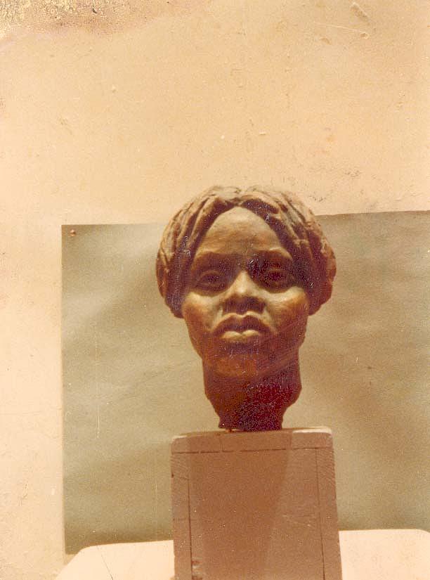Sculpture Sculpture - Portrait by Hassan Badri