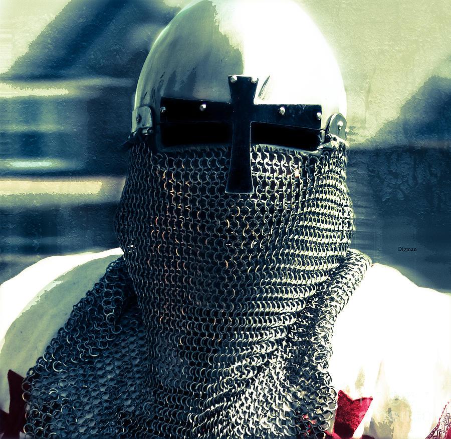 Armor Photograph - Portrait In Renaissance  by Steven Digman