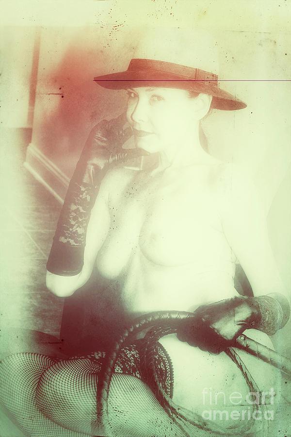 Beauty Photograph - Portrait In Whiplash by ManDig Studios