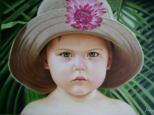Portrait Painting by Luis  Jesus