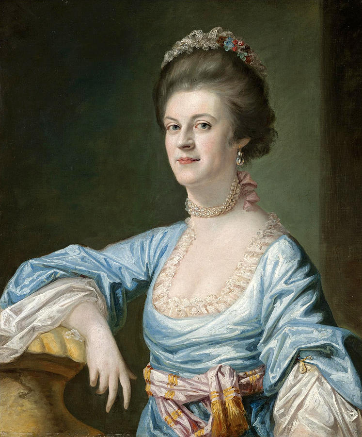 Portrait Of A Lady Painting - Portrait Of A Lady by Hugh Barron