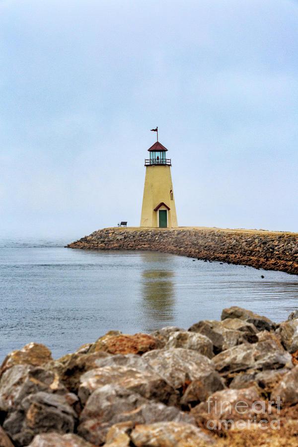 Lighthouse Photograph - Portrait Of A Lighthouse by Terri Morris