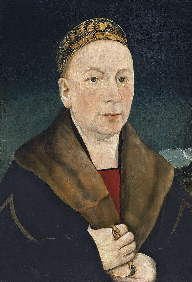 Portrait Of A Man Sebastian Gessler  Ca. 1515 By Martin Schaffner Painting