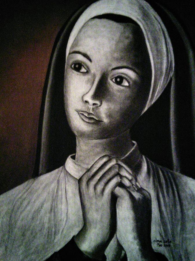 Portrait of a Nun by Alma Bella Solis