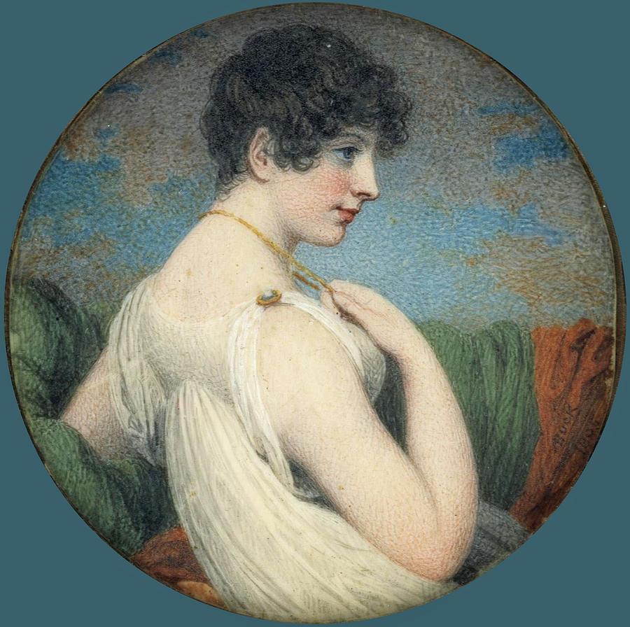 Portrait Of A Woman Drawing - Portrait Of A Woman  by Adam Buck