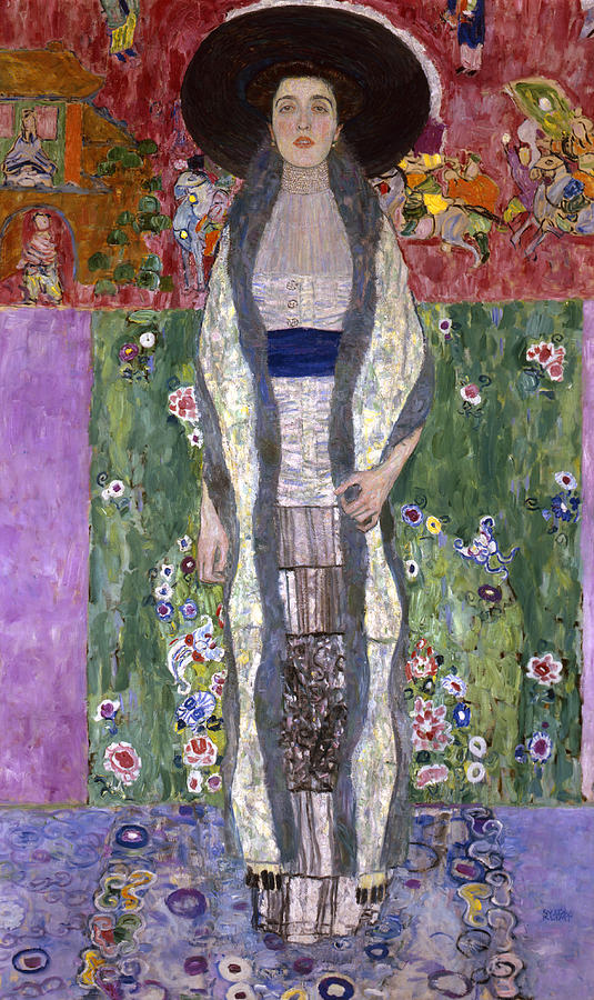 Portrait Of Adele Bloch-bauer II Painting by Gustav Klimt Klimt Adele Bloch Bauer Ii