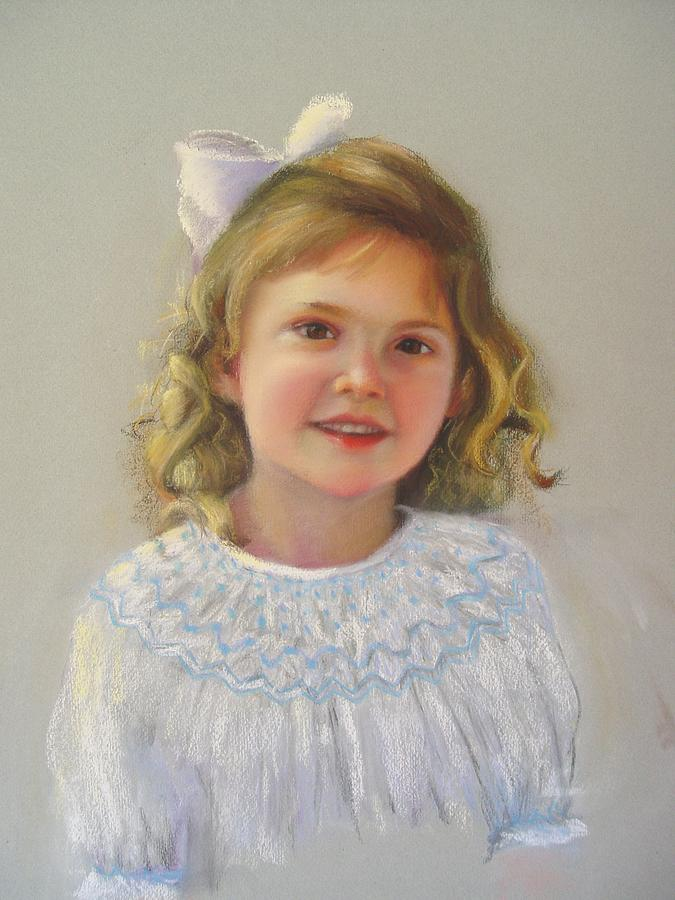 Portrait Of Amy Painting by Melanie Miller Longshore