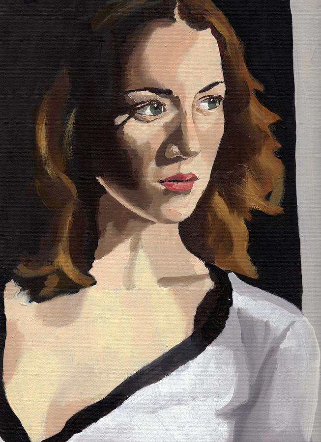 Portrait of Becca by Stephen Panoushek