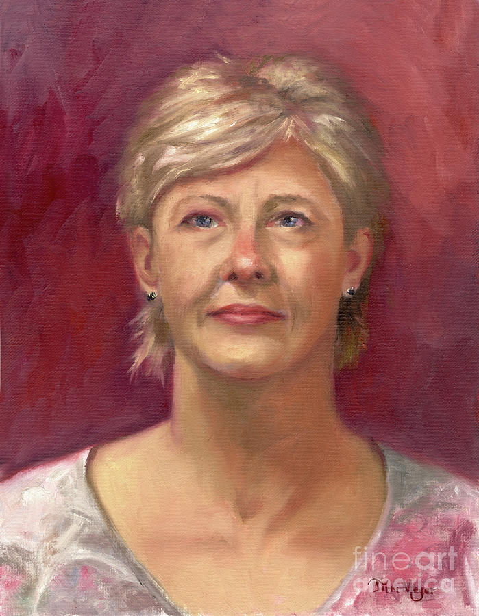 Portrait Painting Painting - Portrait Of Cheryl by Terri  Meyer