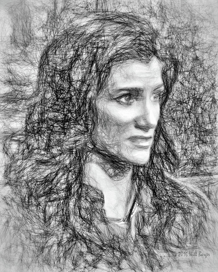 Portrait of Dana Loesch, No. 1C by Will Barger