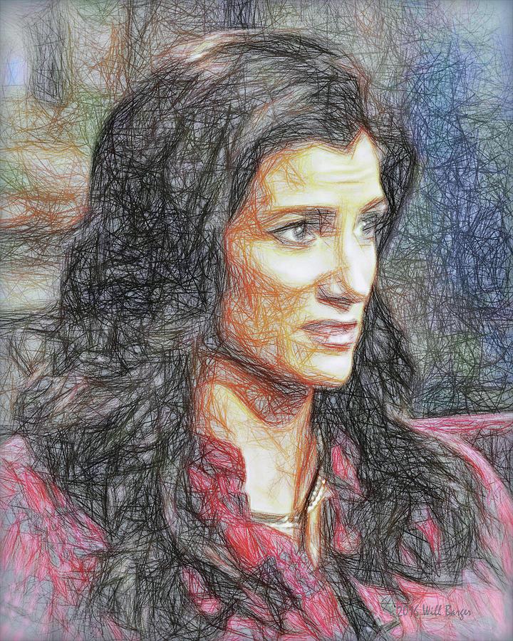 Portrait of Dana Loesch, No. 1D by Will Barger