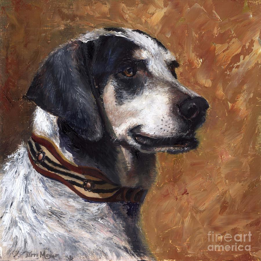 Portrait Of Dax Painting by Terri  Meyer