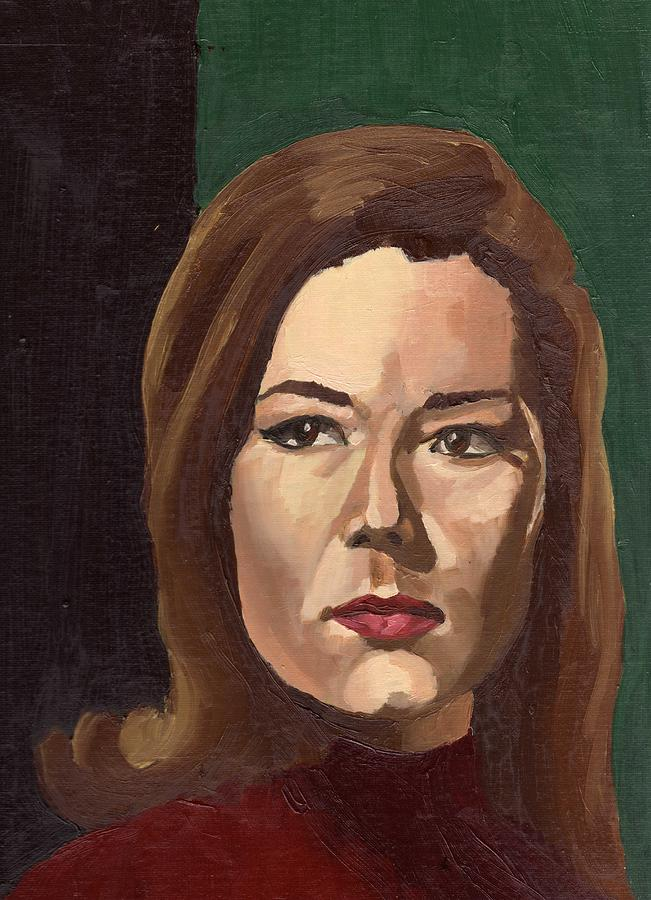 Portrait Painting - Portrait Of Diana  by Stephen Panoushek