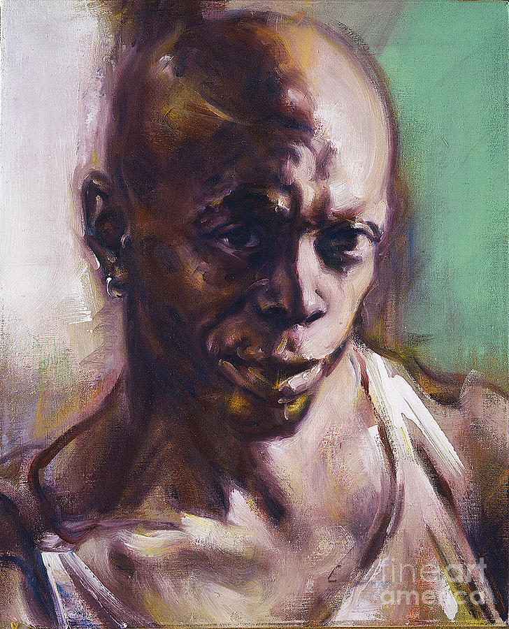 Portrait of Don Pullen by Ritchard Rodriguez