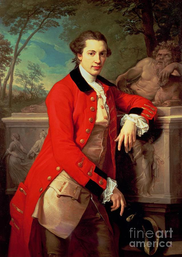 Portrait Painting - Portrait Of Edmund Rolfe by Pompeo Girolamo Batoni
